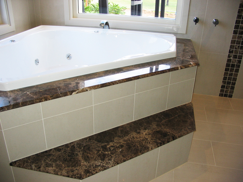 Bath Tub Stone Surround