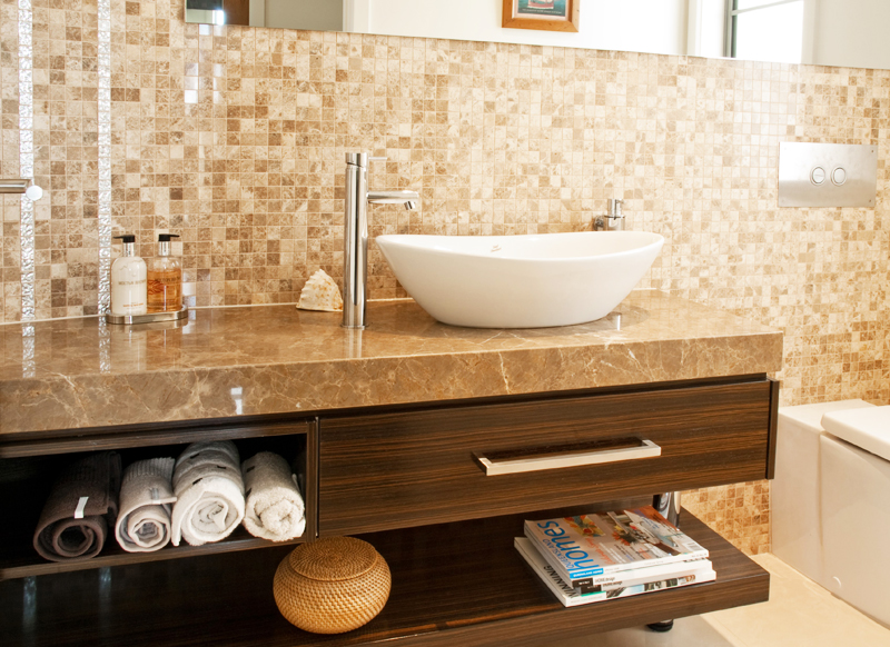 Bathroom Stone Bench Top