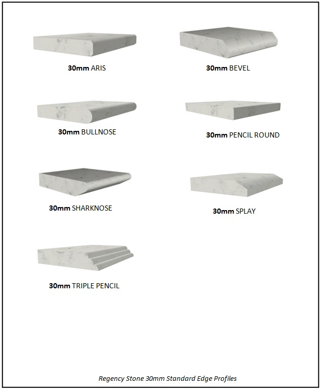 30mm Standard Stone Edge Profiles