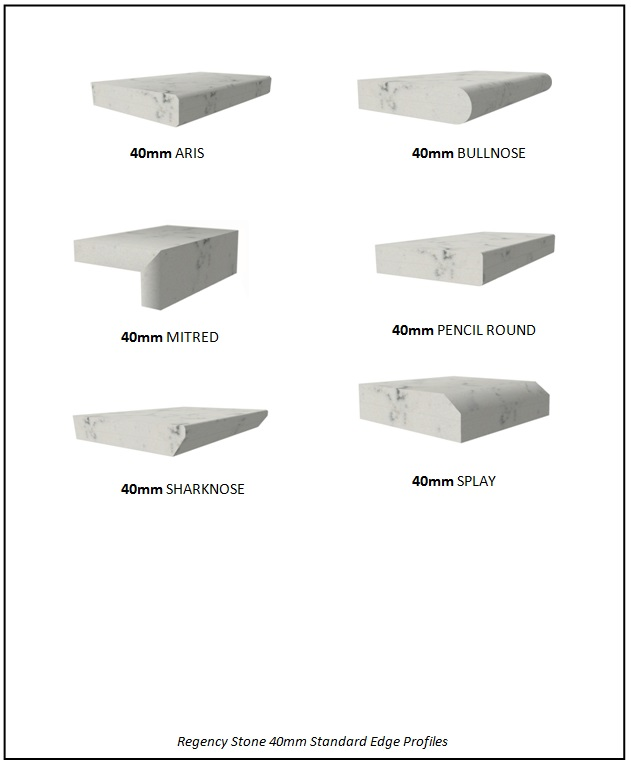 40mm Standard Stone Edge Profiles